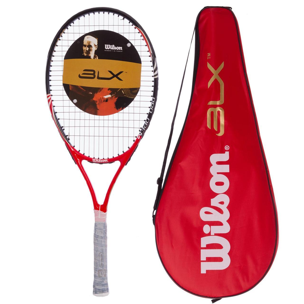 Ракетка для большого тенниса BT-0002 WLS, BBL, HED (Replica, цвета в ассортименте)