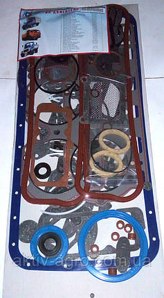 Комплект прокладок двигателя ЯМЗ-236 Ремонтник, фото 2