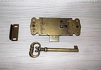 Замок мебельный 5650-22 Brass Бронза