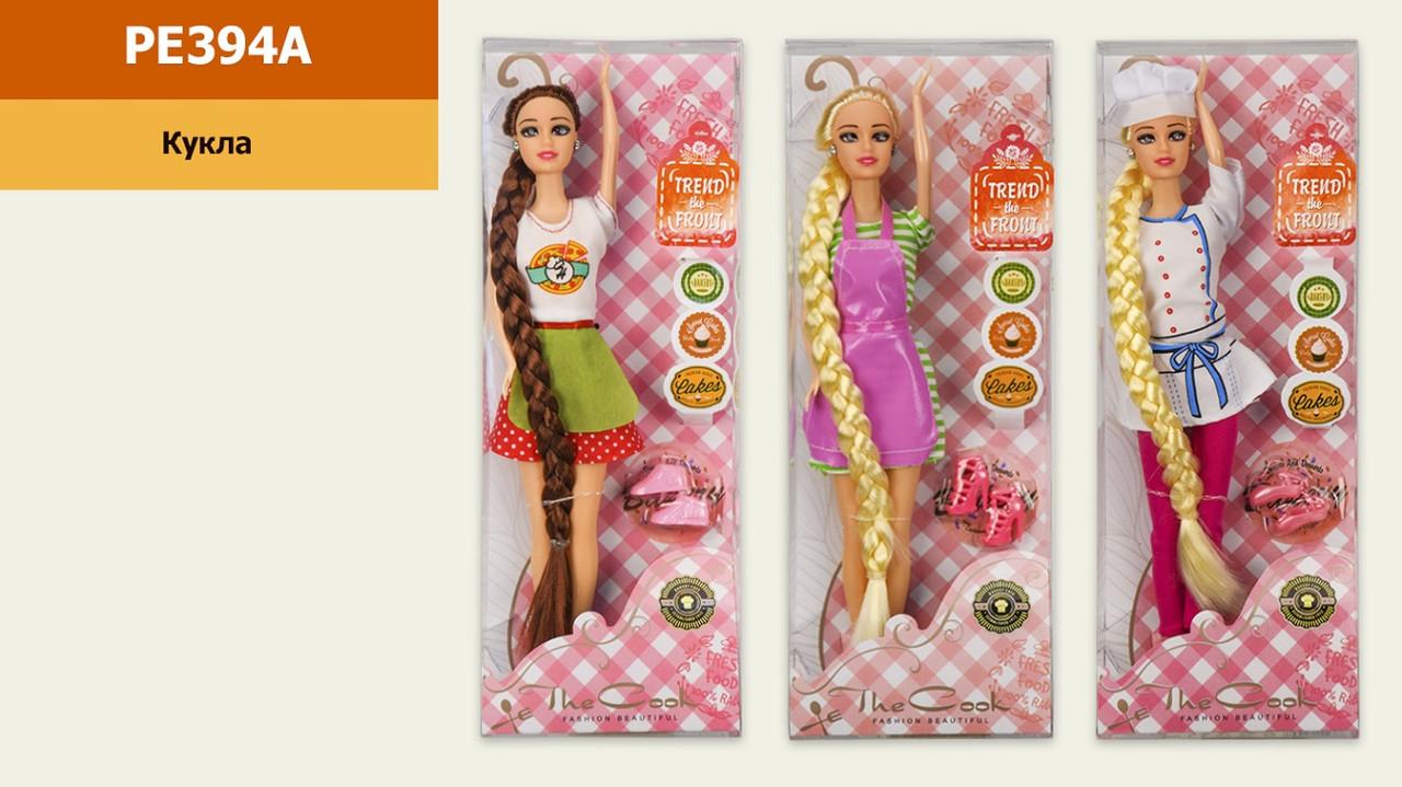 """Лялька """"Кухар"""" 29 см, зі взуттям, 3 види PE394A"""