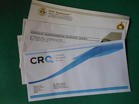 Полноцветная печать на конвертах DL (евро)
