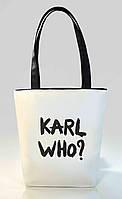 """Женская сумка """"Karl Who?"""" Б340 - белая"""