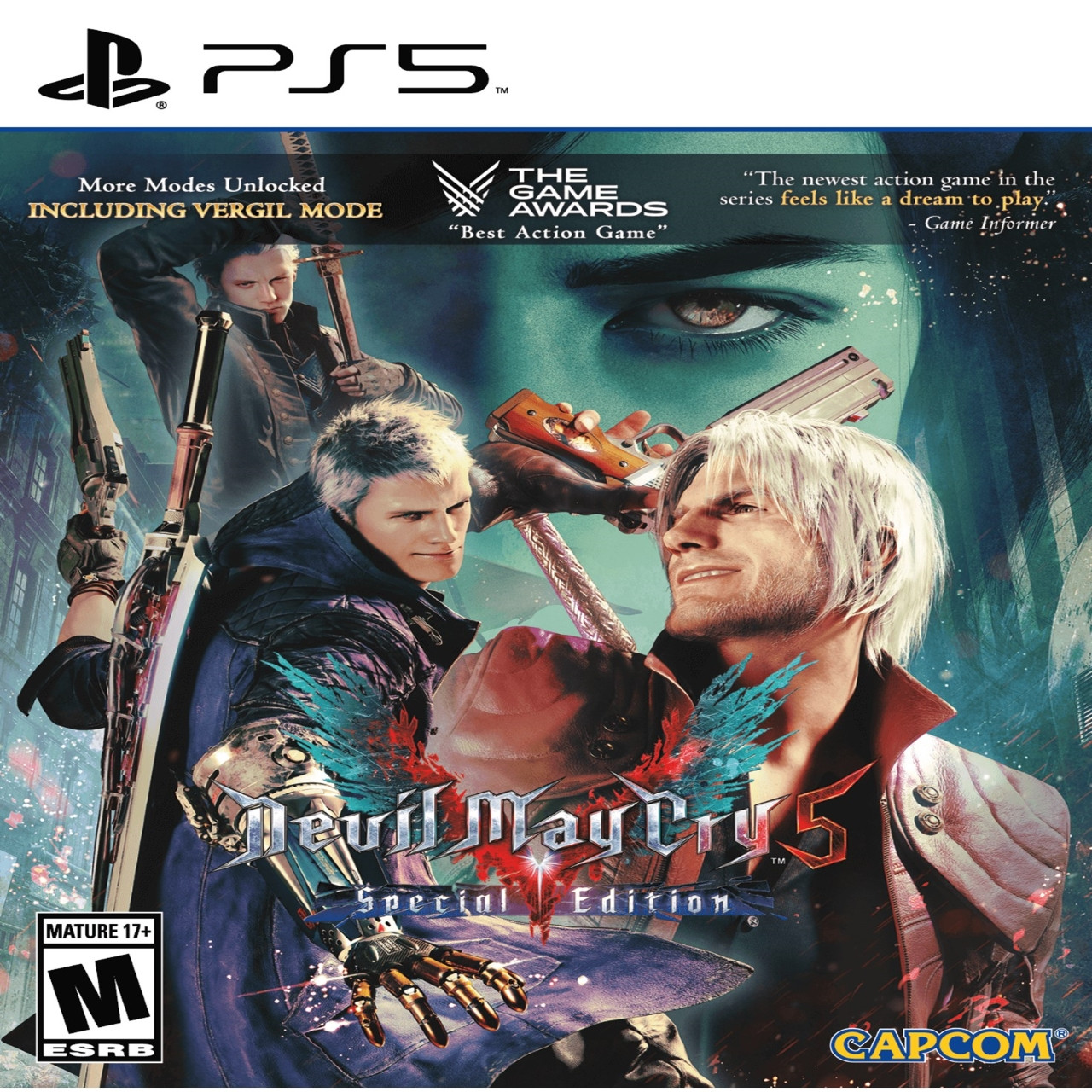 Devil May Cry 5: Special Edition (С русскими субтитрами) PS5