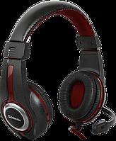 Гарнитура Defender Warhead G-185 Black+Red (64106)
