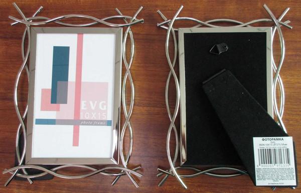 Фоторамка EVG IRON 10X15 LBT27S Silver