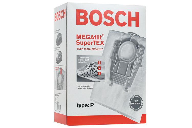 Комплект мешков Type P для пылесоса Bosch, Siemens 462586 (BBZ52AFP2)