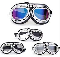 Очки для мотоцикла/Велосипедные/Мотоциклетные Ретро Винтаж очки мото
