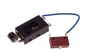 Универсальный ползунковый переключатель для фена 10A 250V (3 позиции)