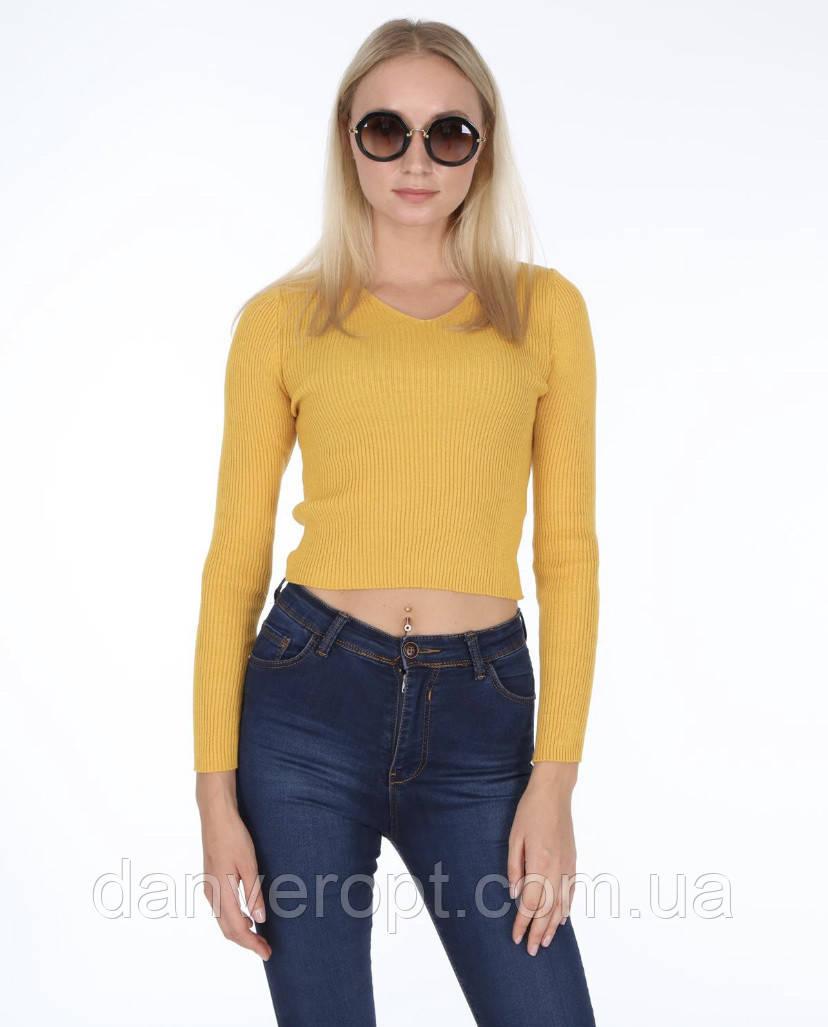 Кофта женская стильная молодежная размер универсальный 44-46 купить оптом со склада 7км Одесса