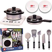Набір посуд: плита, посуд, YY-120