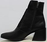 Высокие ботинки женские кожаные от производителя модель РИ6057-1, фото 3