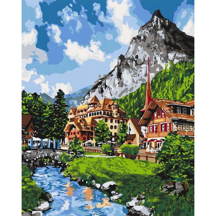 Картины по номерам Идейка 40х50 см Незабываемый пейзаж (КНО2272)