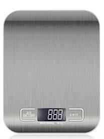 Весы кухонные Domotec MS-33 стальные с металлической поверхностью