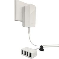 USB Хаб Hub на 4 порта сетевой CAPDASE 4.2A(ORIGINAL)_1373
