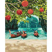Картины по номерам Идейка 40х50 см Отдых в Таиланде (КНО2291)