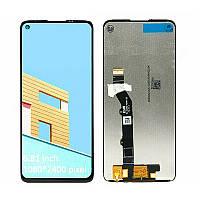 Дисплей для Motorola XT2087 Moto G9 Plus OLED з тачскріном, чорний