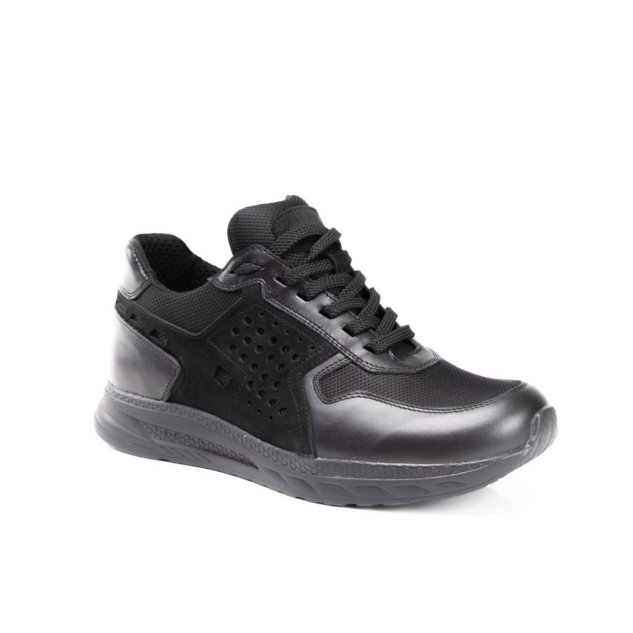 Тактичні Кросівки Літні Ньютон нубук тканина CORDURA Чорний