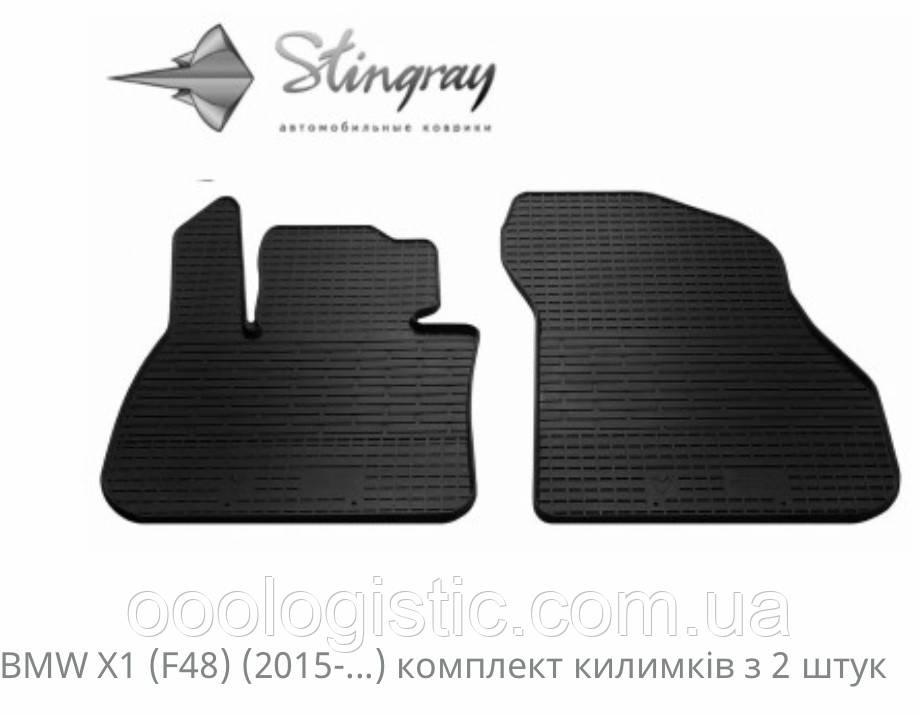 Автоковрики на BMW X1 (F48) 2015>BMW X2 (F39) 2018>Stingray