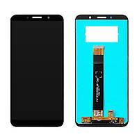 Дисплей для Motorola XT2029 Moto E6 Play з тачскріном, чорний