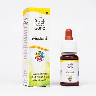 Капли Баха №21 Mustard (Горчица). GUNA. Капли, 10 мл. При необоснованной грусти, тоске и унынии