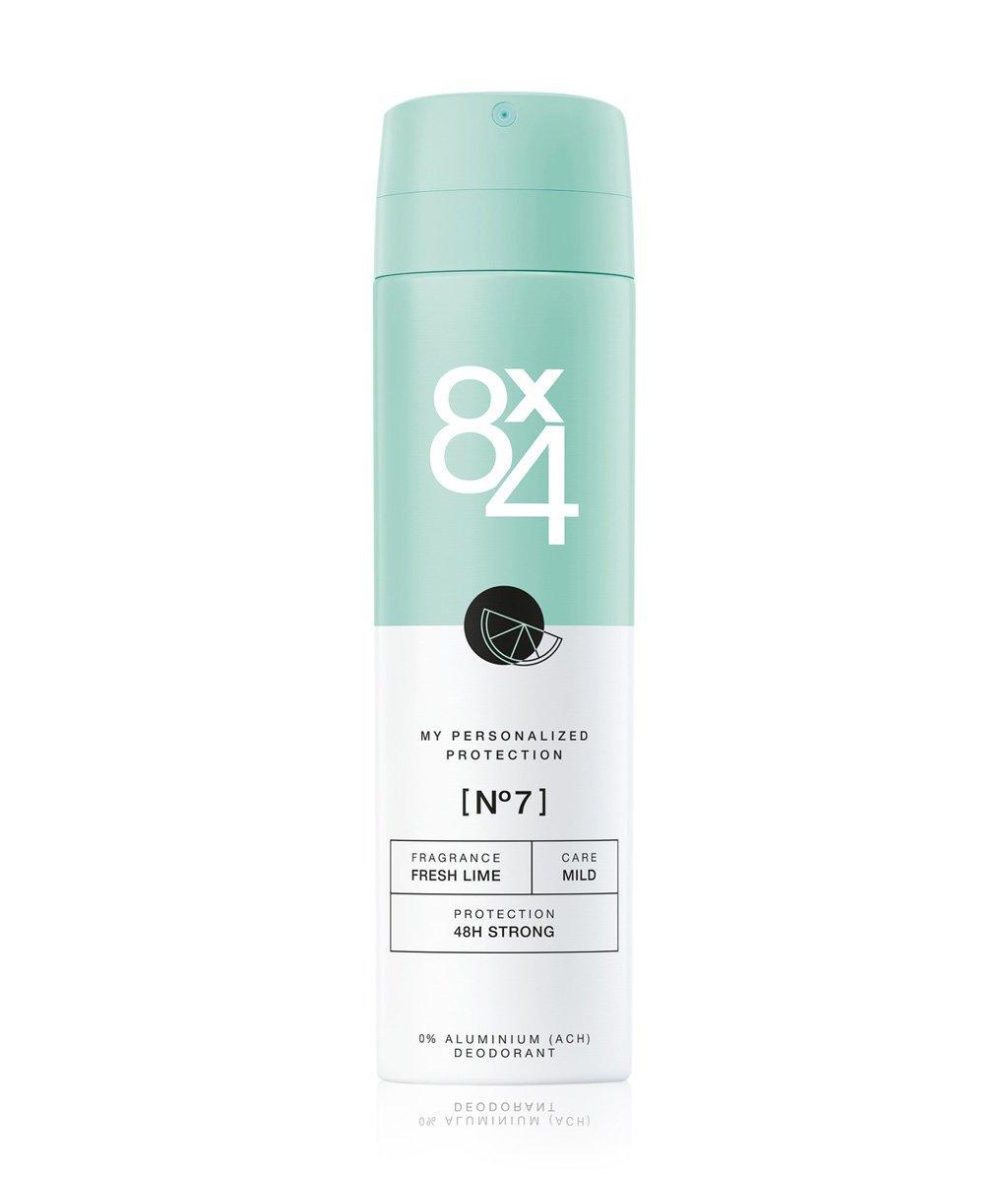 Дезодорант-антиперспірант жіночий 8x4 №7 Fresh Lime 150мл.