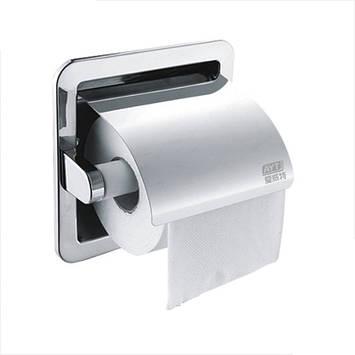 Настенный держатель туалетной бумаги AYT 009F Хром, фото 2