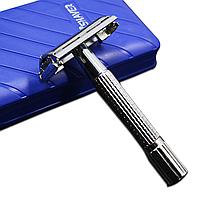 Станок для бритья нержавеющая сталь безопасная классическая бритва для домашнего использования парикмахерской