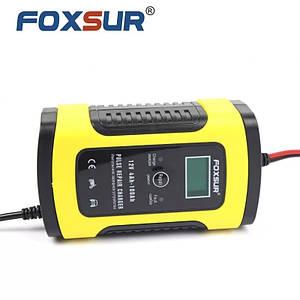 FOXSUR FBC1205D Автоматичний зарядний пристрій для авто, мото, човнових акумуляторів