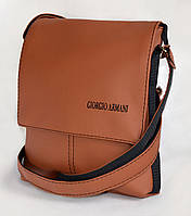 "Мужская сумка ""Giorgio Armani"" А 07 коричневая"