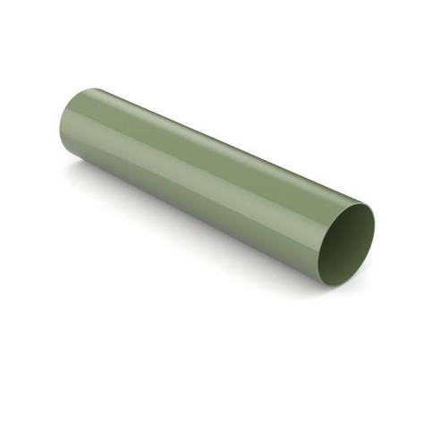 Труба водостічна BRYZA 125 90 мм 3 м Зелений, фото 2