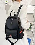 Рюкзак-сумка жіночий нейлон XSJ, фото 4