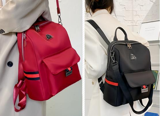 Рюкзак-сумка жіночий нейлон XSJ