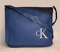"""Мужская сумка """"Calvin Klein"""" 08 синяя, фото 1"""