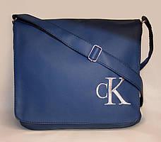 """Мужская сумка """"Calvin Klein"""" 08 синяя"""