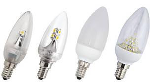 Светодиодные лампы цоколь E14