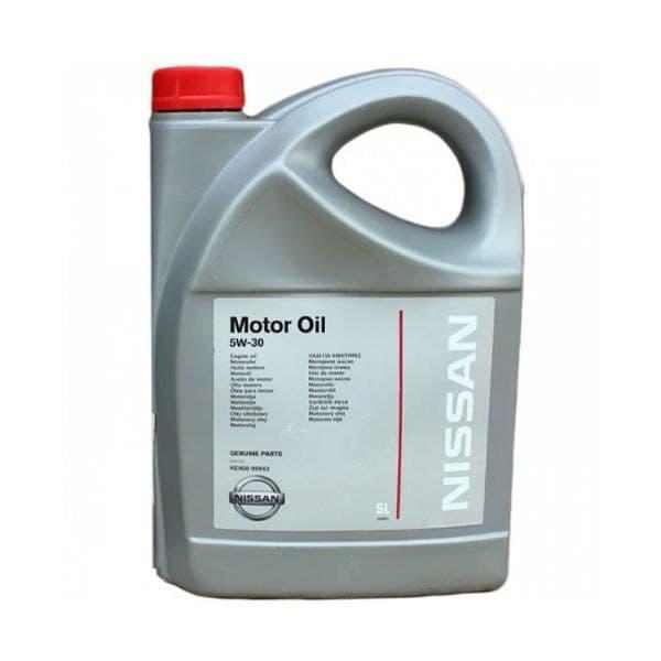 Моторное масло Nissan Motor Oil Fully Synthetic 5W-30  5л (KE90099943)