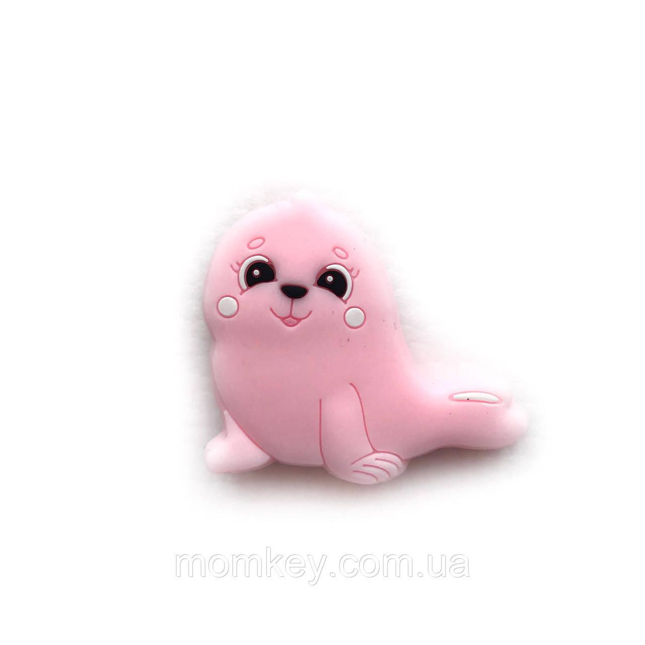 Міні тюлень (рожевий кварц)
