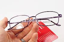 Невеликі окуляри для зору на доросле обличчя. Корейські лінзи з антибликом. РМЦ 56-64 мм., фото 2