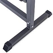 Подставка под гантели для фитнеса на 80шт Zelart (металл, р-р 107х68х105см), фото 7
