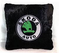 """Автомобільна подушка """"Skoda"""", фото 1"""