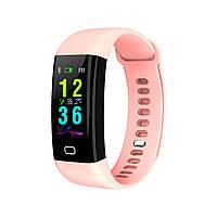 Умный фитнес браслет Lemfo F07 Health с измерением температуры (Розовый)