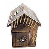 Деревянная копилка для денег Домик, фото 3