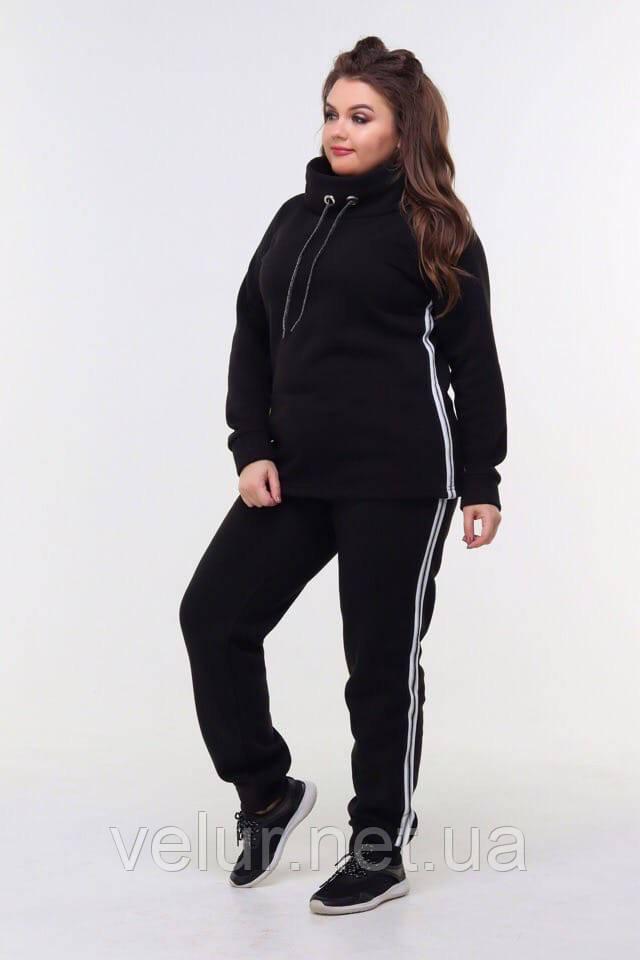 Жіночий трикотажний спортивний костюм трійка-4 кольори, Розміри:46-48,50-52,54-56