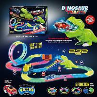 Детский Гоночный Трек 166 Magic Tracks 232 детали, свет, звук, белый пар, фото 1