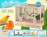 Клітка для птахів Ferplast (Giulietta 6), фото 7