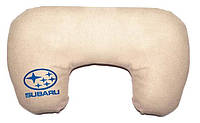 "Подушка рогалик ""Subaru"", фото 1"
