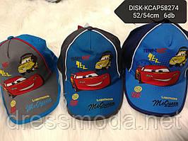 Бейсболки для мальчиков Cars от Disney 52-54 cm