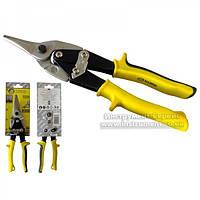 Ножиці по металу 250 мм CR-V (прямі) СТАЛЬ, 41003