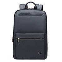 Ультратонкий городской рюкзак для ноутбука 15.6 Arctic Hunter B00410 деловой портфель (Gray)