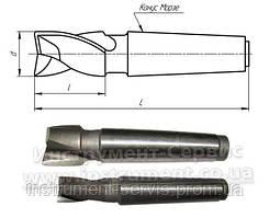 Фреза шпоночная к/х Ф 20 КМ3 124/22 Р6М5 (IS)